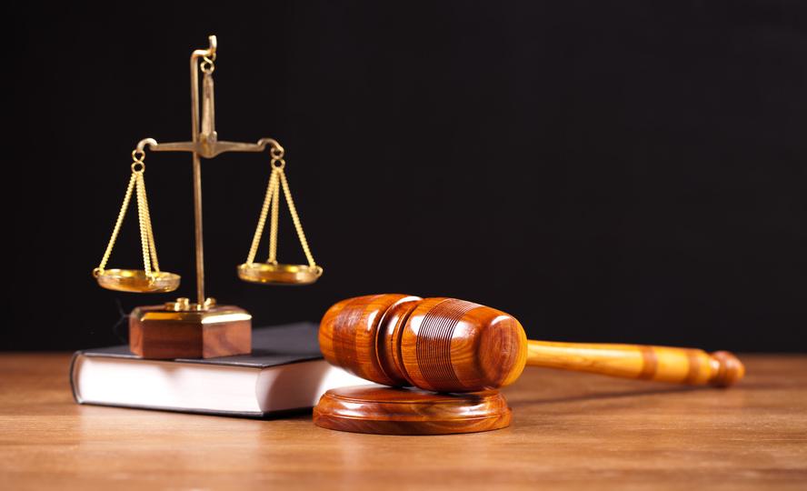 law book,balance and gavel