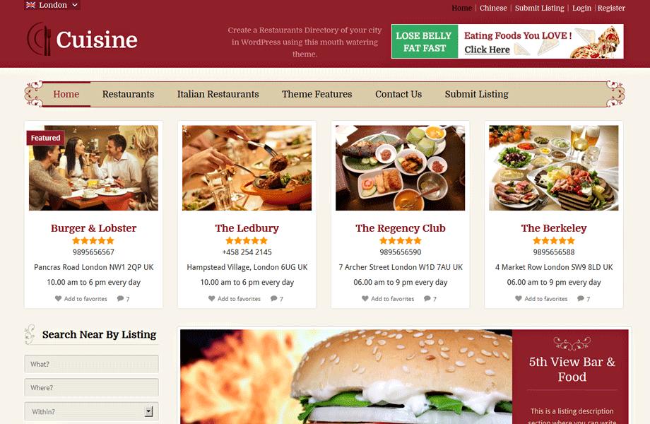 restaurants email list