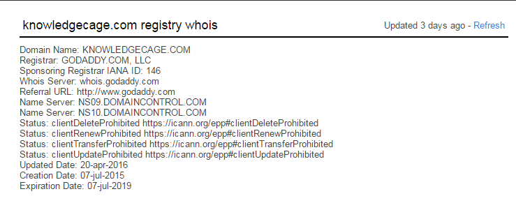 whois data scraping